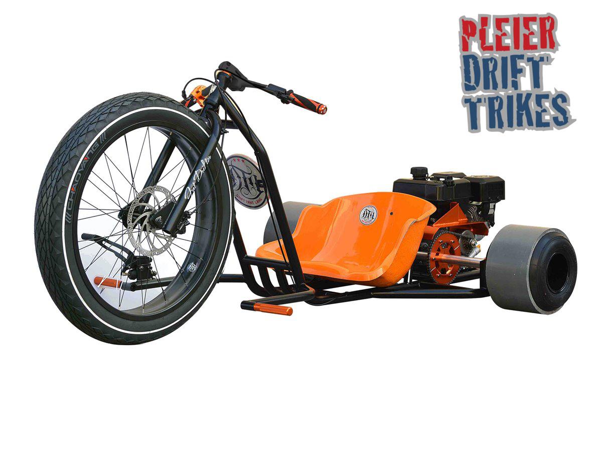 pleier motorisiertes drifttrike kart drift trike bike. Black Bedroom Furniture Sets. Home Design Ideas